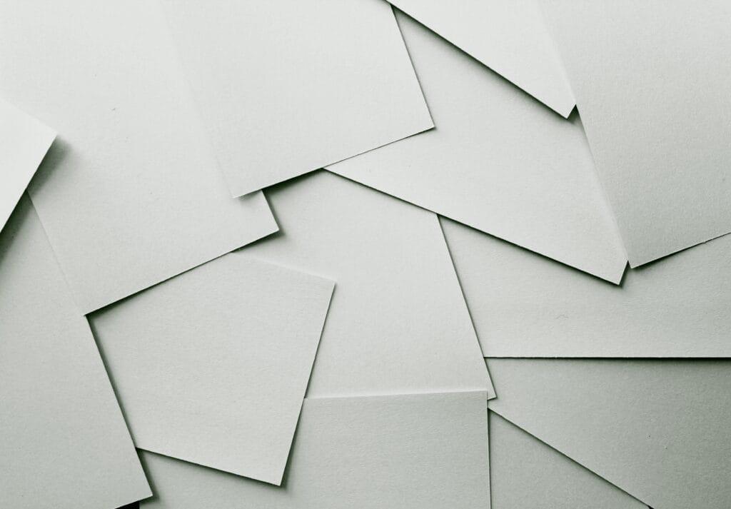 Papier und Zeitungspapier upcycling