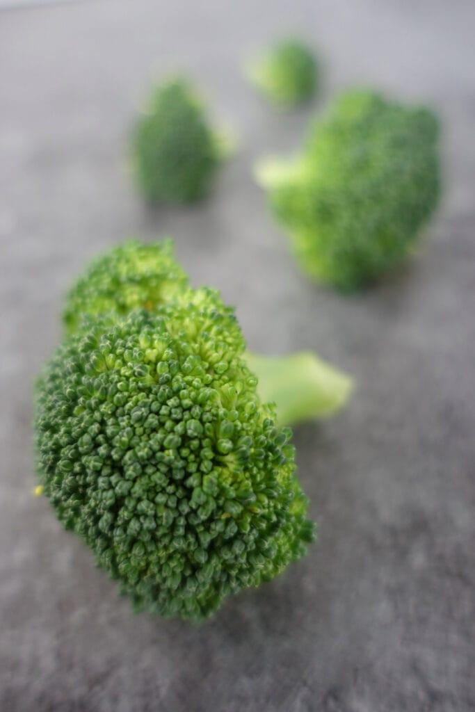 Broccoli für die Brocclicremesuppe