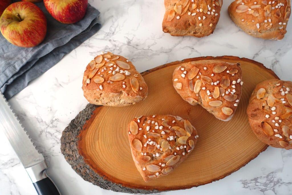 Broetli Rezept mit Apfel und Joghurt