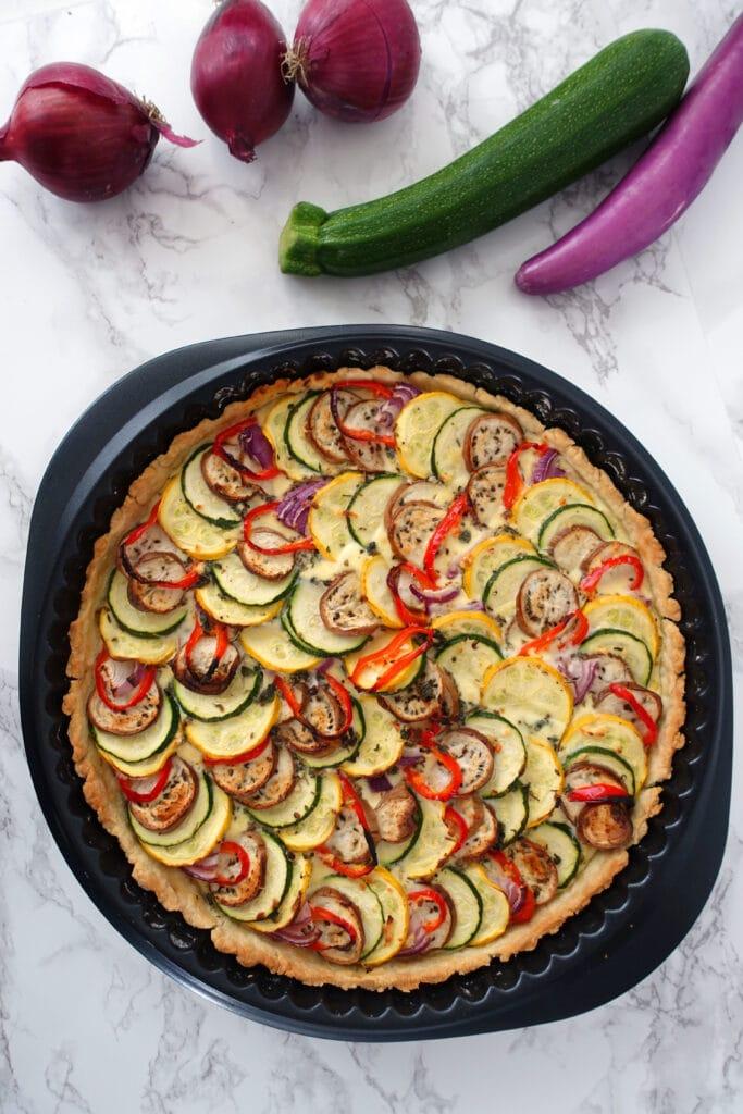 Gemüsequiche Rezept zum Selber machen