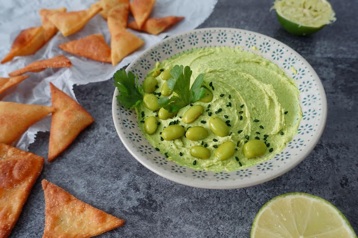 Edamame-Hummus-Rezept