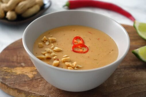 Erdnuss-Sauce vegan Rezept