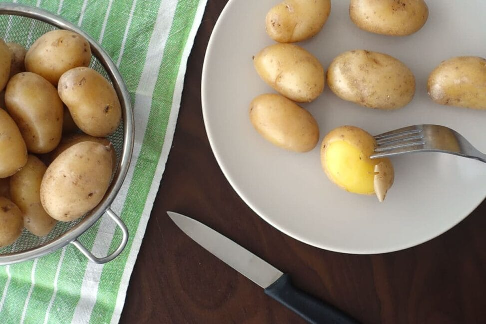 Gschwellti Pellkartoffeln Rezept Anleitung Kartoffeln richtig kochen