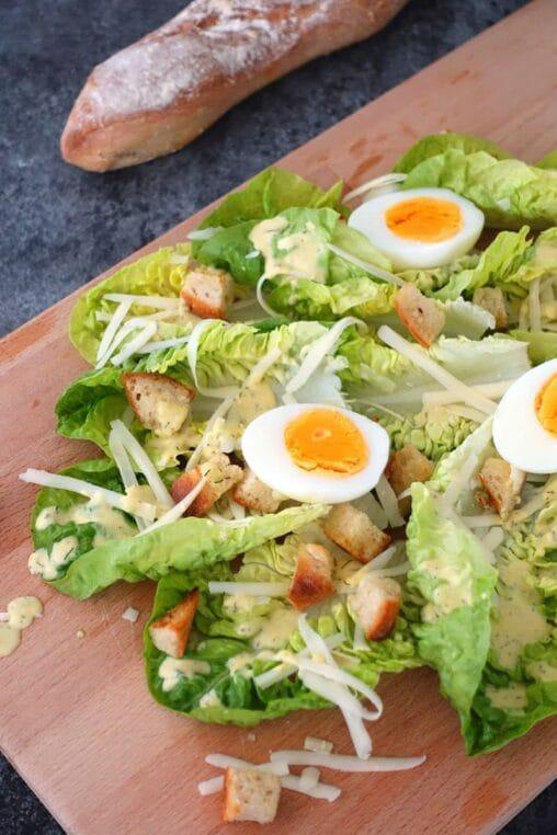 Caesar Salad Rezept vegetarisch
