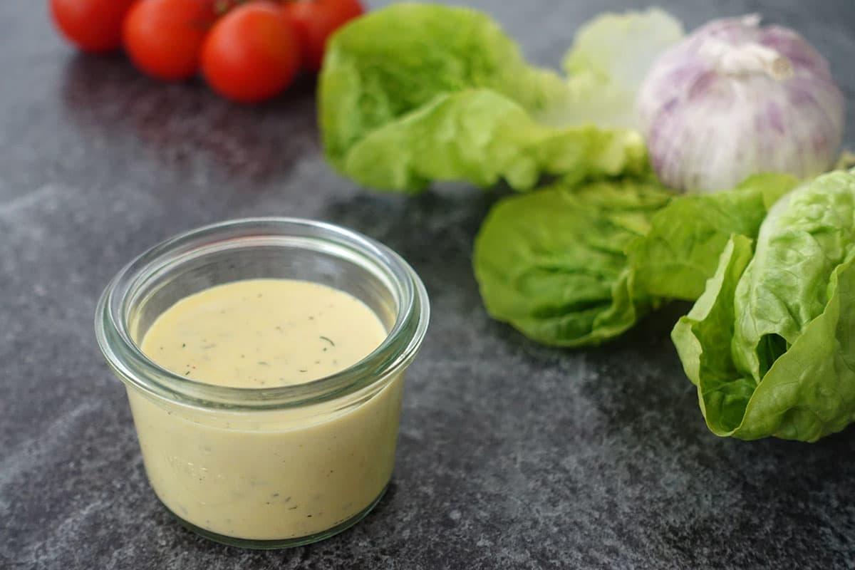 Französische Salatsauce Rezept