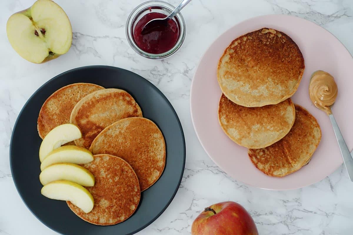 Zwieback-Pancakes als Resteverwertungs Rezepte Idee