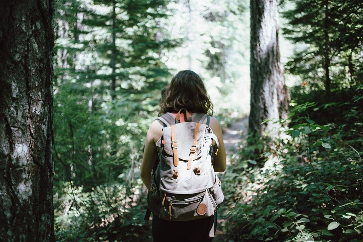 Waldbaden gegen Stress