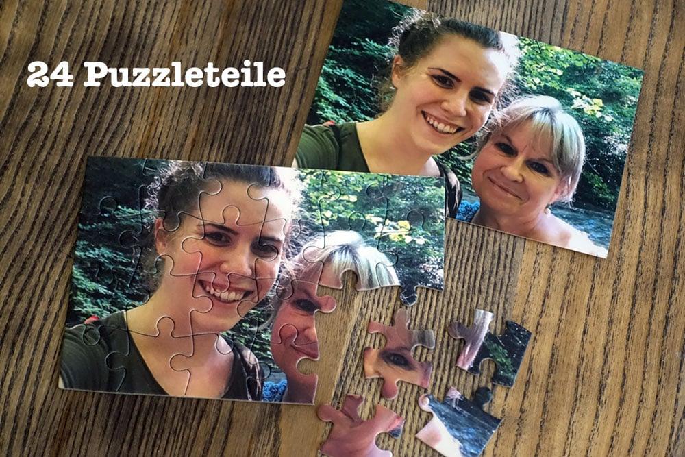 24 teiliges Foto Puzzle
