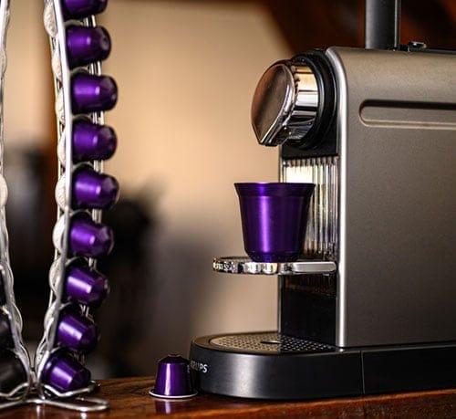 Nespresso Kaffeemaschine Shop Paradieschen