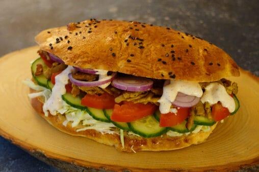 Vegetarischer Döner Kebab Rezept